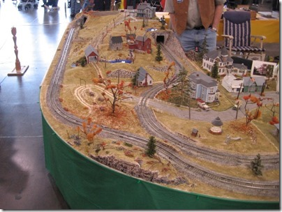 IMG_0894 S-Scale Oregon State Capitol Holidays Layout at the WGH Show in Puyallup, Washington on November 21, 2009
