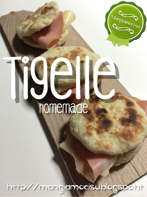tigelle homemade allo yogurt