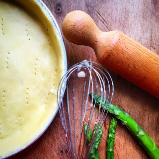 Clafoutis salato agli asparagi @monsieurtatin.blogspot.it