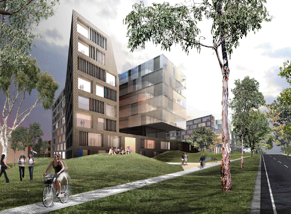 northbourne flats concept drawing