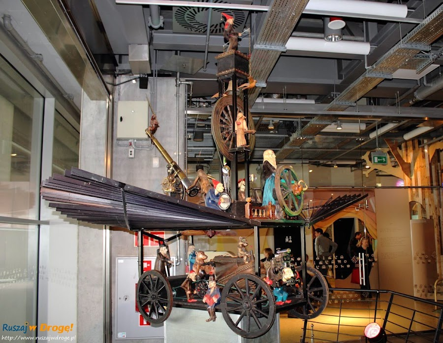 centrum nauki kopernik w Warszawie: maszyna latająca