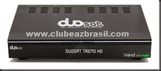DUOSAT TREND HD MAXX NOVA ATUALIZAÇÃO V 1.25