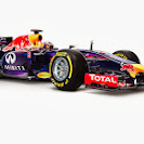 Red Bull Racing RB10 right front view