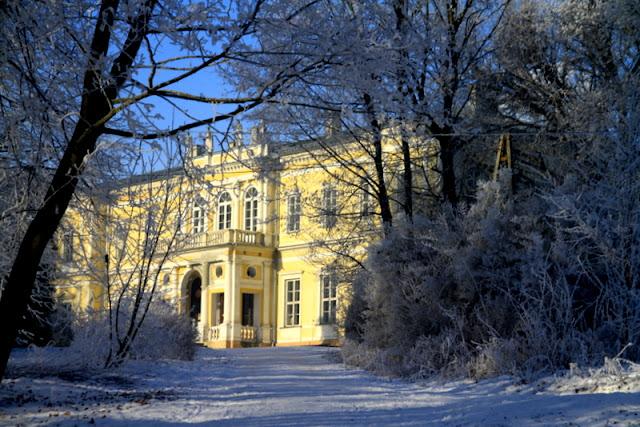 pałac wielopolskich wChrobrzu