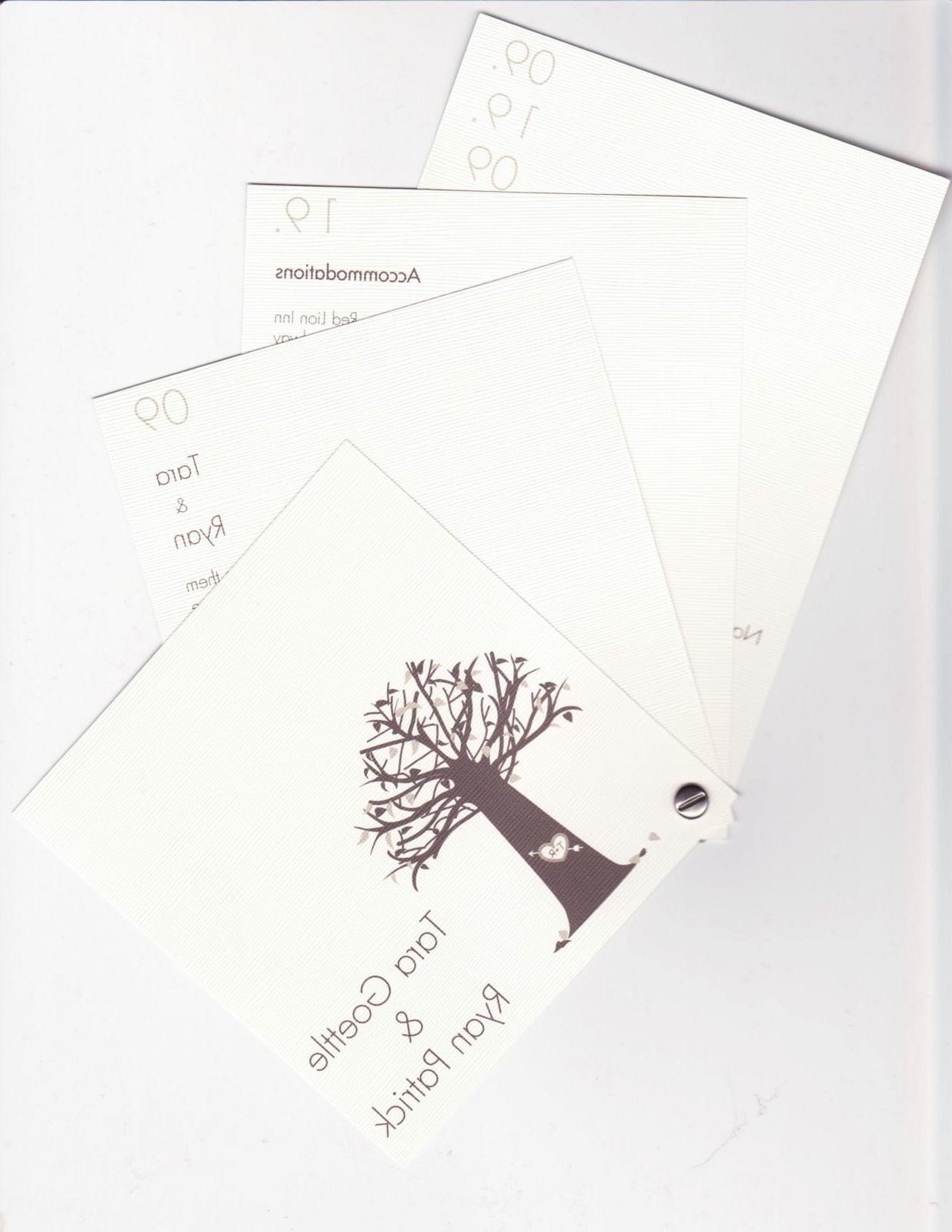 branch wedding invitations