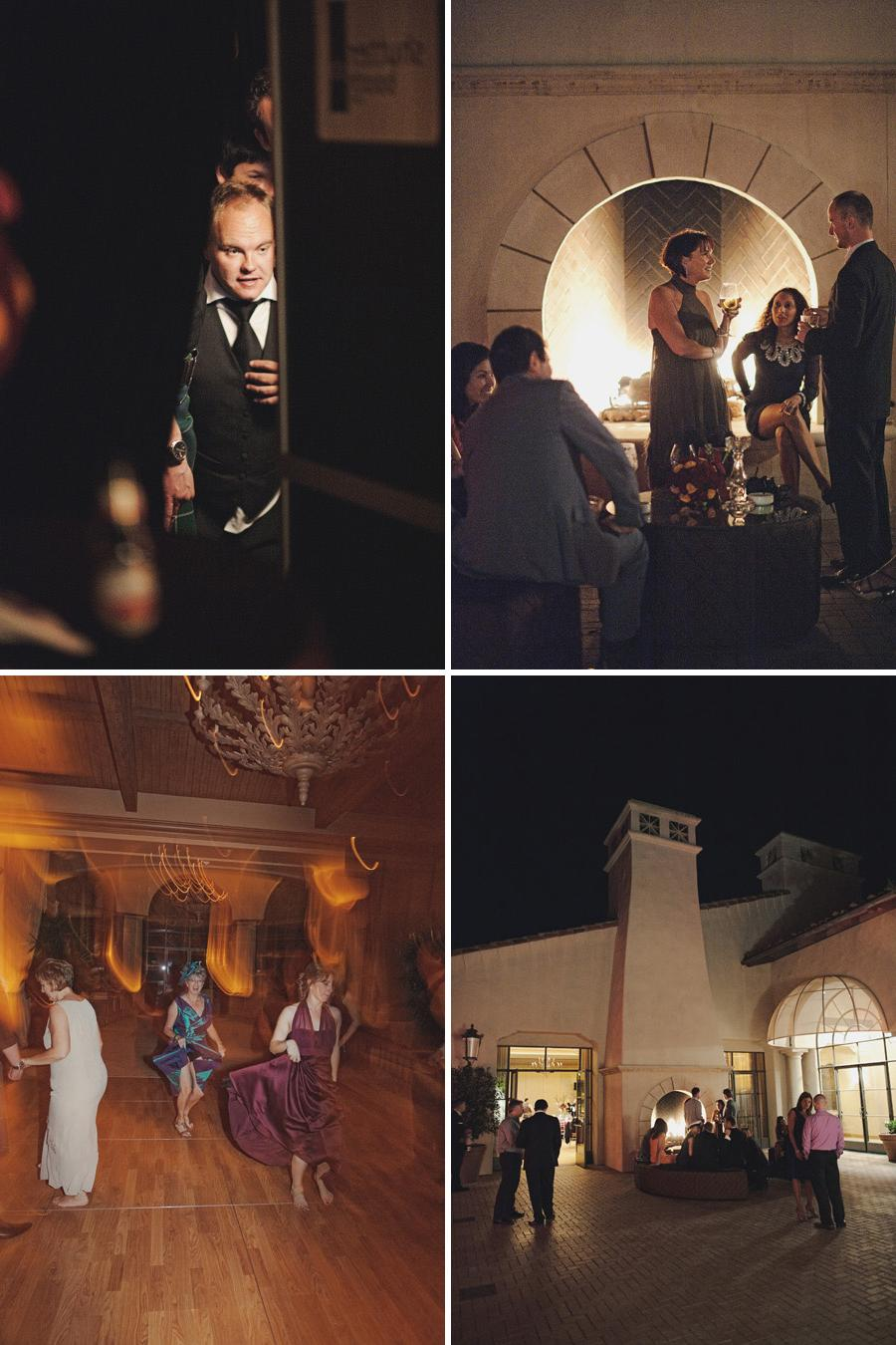 Pelican hill wedding reception