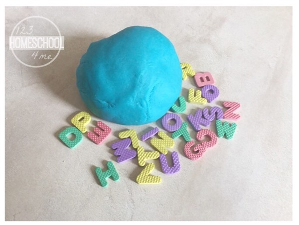 playdough activity for preschool