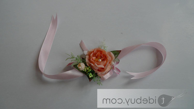 Silk Cloth Wedding Wrist