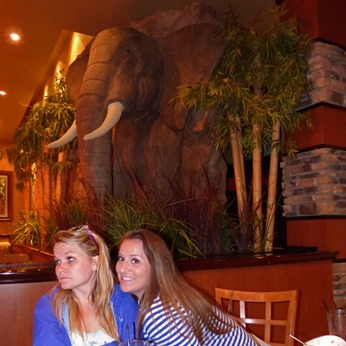 Stephanie and Jenny