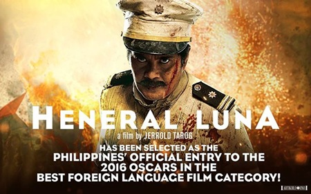 Heneral Luna - Philippines' official entry to 2016 Oscars