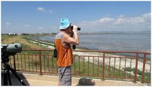 Орнитологический центр. Поморийское озеро. Болгария.