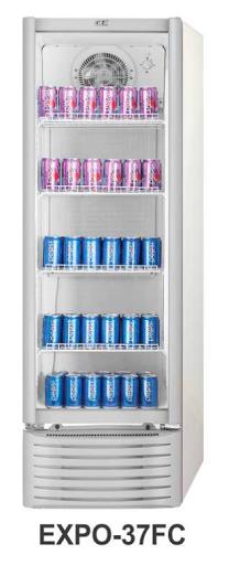 Mesin Pendingin  Minuman 1 Pintu Kapasitas 282 Liter (Display Cooler) : EXPO-37FC