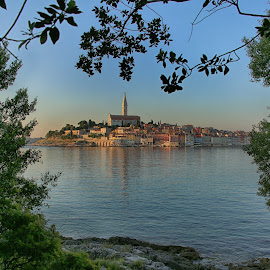 Rovinj by Susan Marshall - Landscapes Travel ( water, old town, ocean, rovinj, city )