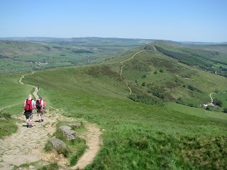 Path to Hollins Cross, Back Tor & Lose Hill