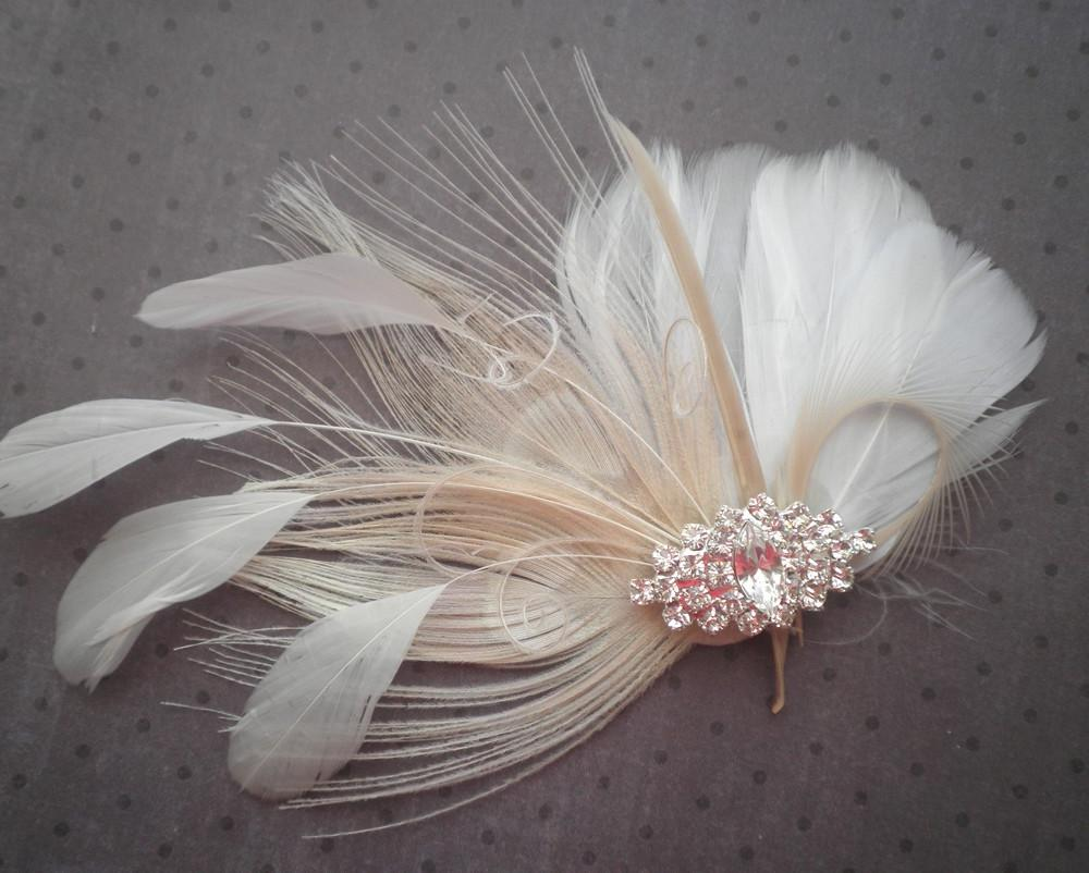 White and Ivory Peacock