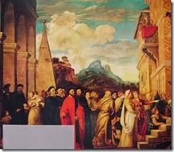 17 Tiziano - La presentazione di Maria part. sn