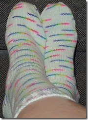 Lemonade Rainbow Socks - complete