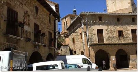 Plaza porticada - Cirauqui - Navarra