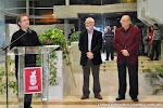 24: Inauguración en Alboraya el alcalde Miguel Chavarría, Juan Grecos y Ruiz del Puerto