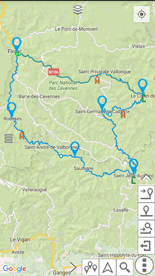 myRouteMap Screenshot 5