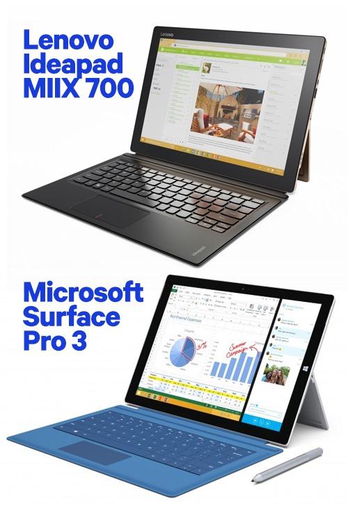 Lenovo Ideapad MIIX 700 Surface Pro 3