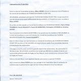Le communiqué de l'association AB Lagunak