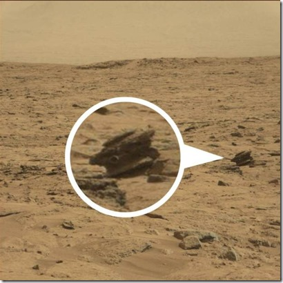Alien Drone Found On Mars