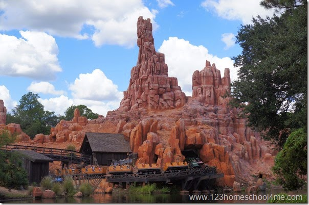big thunder mountain disney world magic kingdom