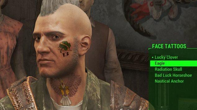 Fallout 4 ? Frisuren, Gesichtsbemalungen und Tätowierungen II (Guide)