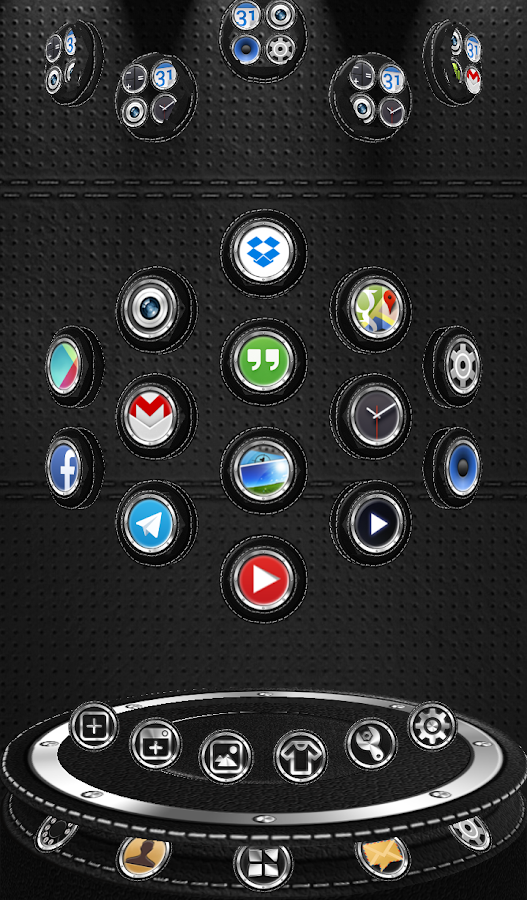 Next Launcher 3D Theme Bespoke Screenshot 7