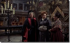 Brides of Dracula Inside the Castle
