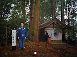 Góra Kurama, gdzie medytował Mikao Usui