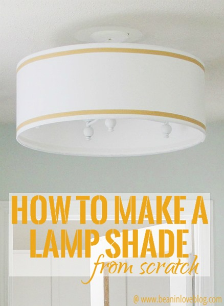 Lamp shade from scratch bean in love diy lamp shade aloadofball