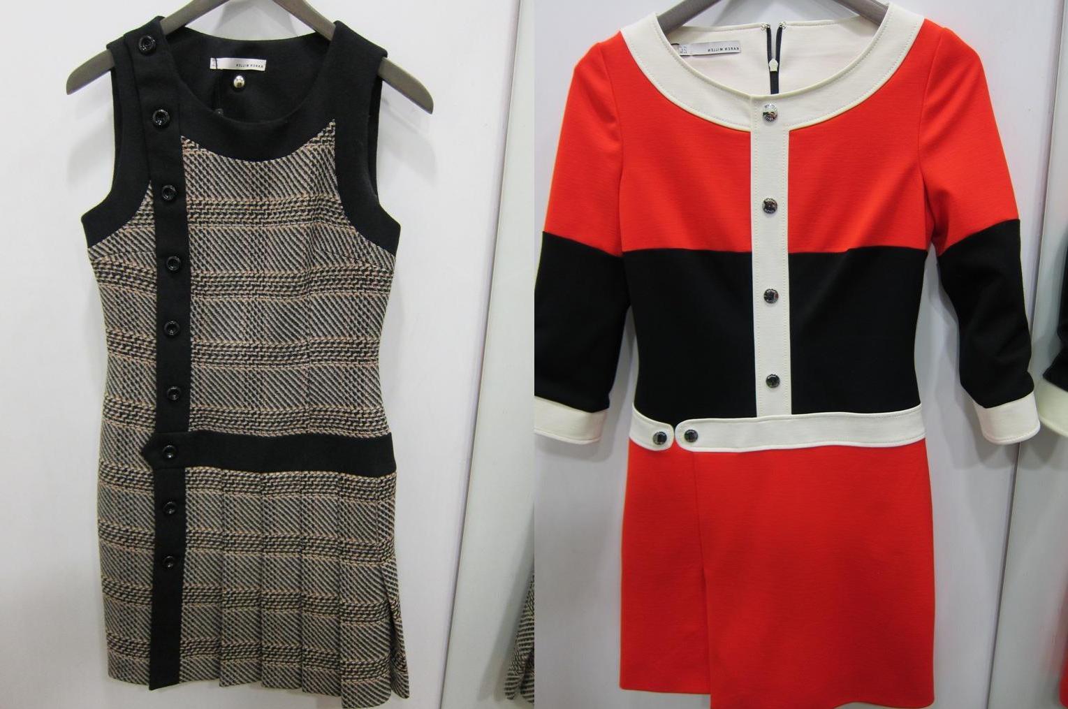 dress and shift dress at