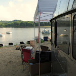 We should have the airstream on a beach every day...but it might be pretty far away some days