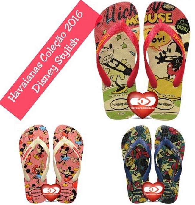 havaianas 2016 disney stylish mickey minnie retro