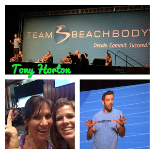 Be a Successful Work at Home Mom! WHY NOT YOU?, www.HealthyFitFocused.com, Julie Little, Live workout with Tony Horton