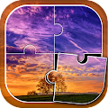 Game Landscape Jigsaw Puzzles apk for kindle fire