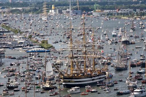 Sail Amsterdam , Amsterdam Tall Ships Parade