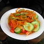 Wersja wege: sałatka ze słoika