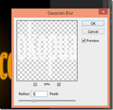 efek api teks terbakar photoshop tutorial