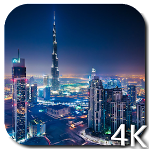 Dubai 4K Video Live Wallpaper