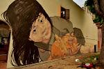 Niedaleko Penang Street w Bugis znajdziemy graffiti tego samego artysty, który ozdobił wyspę Penang.