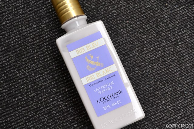 L'Occitane Iris Bleu Body Milk and Hand Cream Review (2)