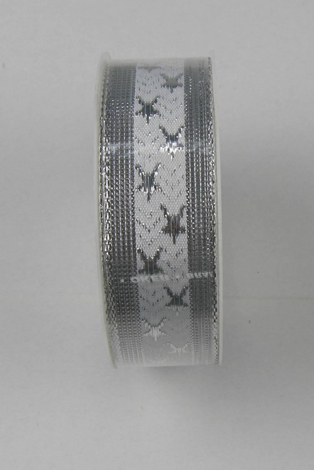 Wholesale silver mesh ribbon