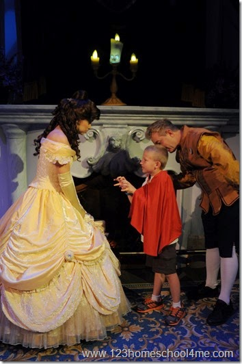 Enchanted Tales with Belle at Magic Kingdom