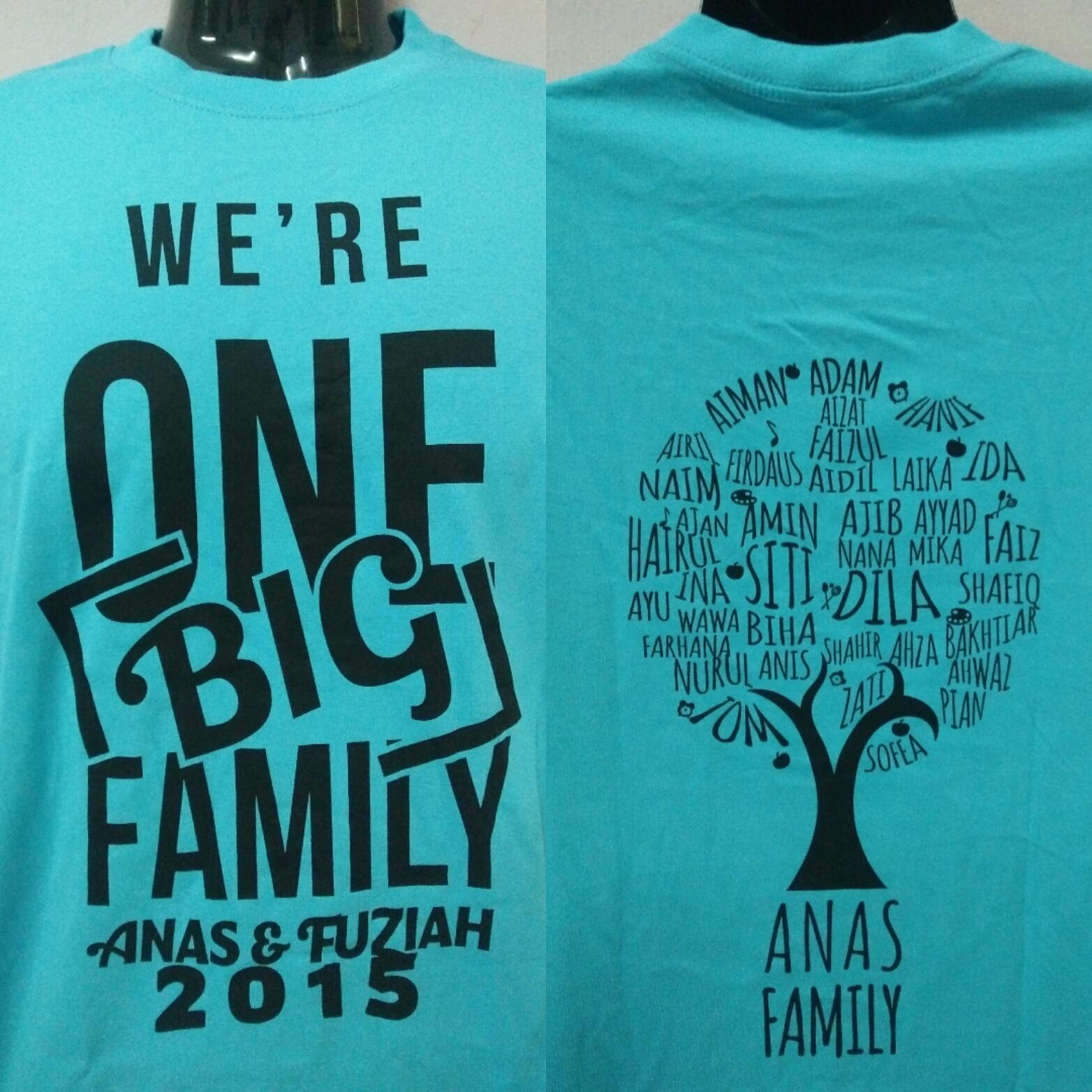 Contoh design t shirt family day - Design T Shirt Keluarga Design T Shirt Untuk Family Day Design T Shirt Keluarga Dicatat
