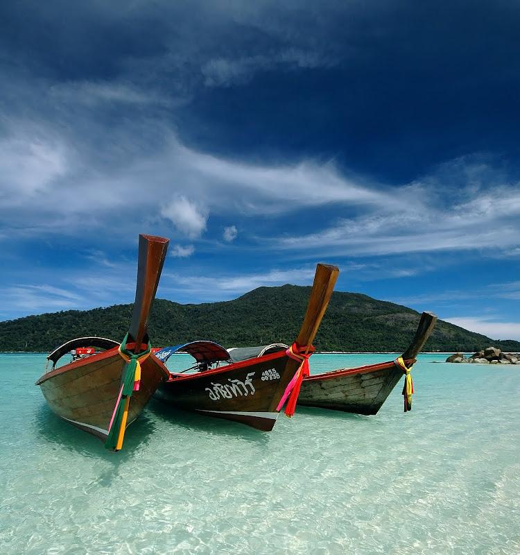 barques, Thailande
