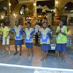 Temple Point Resort, Tanzendes Empfangskomitee © Foto: S. Schlesinger | Outback Africa Erlebnisreisen