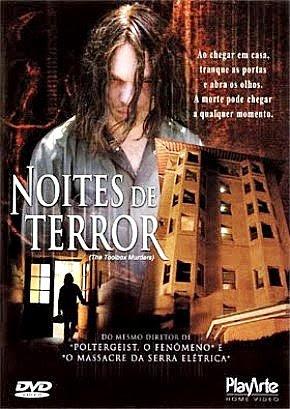 Filme Poster Noites de Terror DVDRip XviD & RMVB Dublado